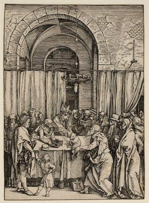 Albrect Dürer - Joachim's Offering Rejected by the High Priest