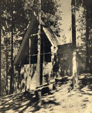 Rudolph Michael Schindler - Bennati Cabin, Los Angeles