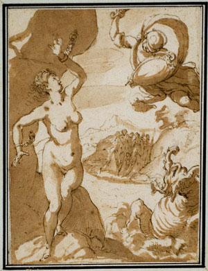 Hans Rottenhamer - Perseus Rescuing Andromeda